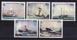 Alderney Set Of Stamps To Celebrate Shipwrecks. - Alderney