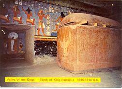 Egypte - Valley Of The Kings - Tomb Of King Ramses I - 1315-1314 B.C. - Lehnert & Landrock Nº 1 - 3033 - Pyramids