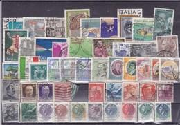 ITALIE : Y&T :lot De 50 Timbres Oblitérés - Sonstige