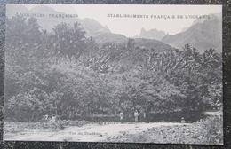 Tahiti Vue Du Diademe  Cpa Colonies Françaises Etablissements Français De L'oceanie - Polynésie Française