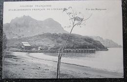 Marquises Iles Vue Des Marquises  Cpa Colonies Françaises Etablissements Français De L'oceanie - Polynésie Française