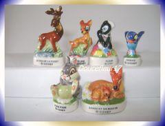 Bambi II .. Lot De 7 .. Ref AFF : 72-2000 ... (pan 018) - Santons