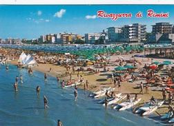 RIVAZZURRA - VEDUTA DAL MARE  VG AUTENTICA 100% - Rimini