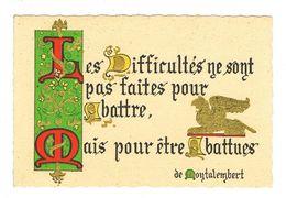 Calendrier 1969 Les Difficultes - Calendars