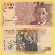 Colombia 1000 Pesos P-456t 2015 UNC - Colombie