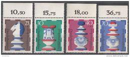 B491 Germania 1972   Chess Scacchi Knight Nuovo MNH Serie Completa Deutsche Bundespost - Scacchi