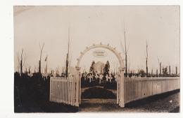 Staden: Ehrenfriedhof. (Fotokaart, Erster Weltkrieg,1916). - Staden