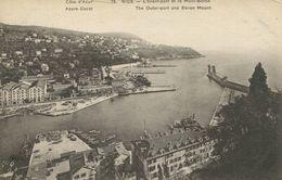 Nice - L'avant-port Et Le Mont-Boron (001871) - Transport Maritime - Port