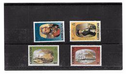 EDY 839 - GIBILTERRA 1980 , Serie 411/414  ***  NELSON - Gibilterra