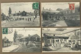 4 CPA -   Saint Aubin D'Ecrosville   -  (Eure) - - Saint-Aubin-d'Ecrosville