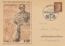 BERLIN - 1942 , Tag Der Briefmarke - Germany