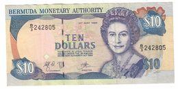 Bermuda 10 Dollars 31/05/1999 - Bermudes