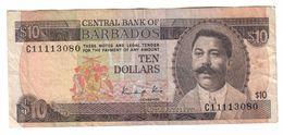 Barbados 10 Dollars 1986 - Barbados