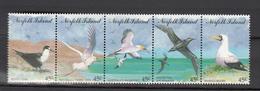 Norfolk Island 1994,5V In Strip,birds,vogels,vögel,oiseaux,pajaros,uccelli,aves,MNH/Postfris,(L3258) - Vogels
