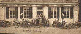 Strombeek. (Grimbergen) Café- Laiterie Du DRY PIKKEL. Très Animée, Motos, Pub De L'Etablissement Au Dos. 3 Scans. - Grimbergen