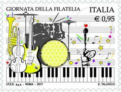 Italia Repubblica 2017 Giornata Della Filatelia Euro 0,95 MNH** Integro - 2011-...:  Nuovi