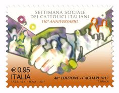 Italia Repubblica 2017 Settimana Sociale Dei Cattolici Italiani Euro 0,95 MNH ** Integro - 2011-...:  Nuovi
