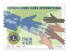 Italia Repubblica 2017 Lions Clubs International Euro 0,95 MNH ** Integro - 2011-...:  Nuovi
