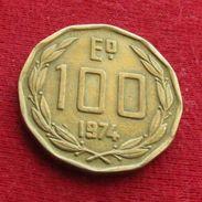 Chile 100 Escudos 1974 KM# 202 Chili - Chile