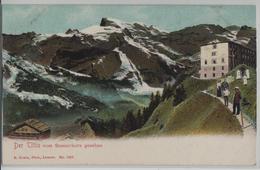 Der Titlis Vom Stanserhorn Gesehen - Animee - Photo: E. Goetz - NW Nidwalden