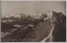 Stanserhorn - Hotel Mit Berneralpen - Photo: W. Zimmermann - NW Nidwalden