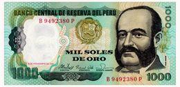 PERU SOLES DE ORO 1981 Pick 122 Unc - Pérou