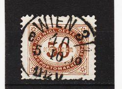HIT305 ÖSTERREICH 1894 Michl 9 PORTO Used / Gestempelt ZÄHNUNG Siehe ABBILDUNG - Strafport