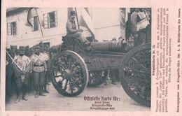Allemagne, Rote Kreuz, Canon Et Militaires, Kriegsbildkarte N°15 (5.11.1914) - Weltkrieg 1914-18