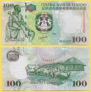 Lesotho 100 Maloti P-19e 2009 UNC - Lesotho