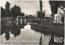 X1056 Campello Sul Clitunno (Perugia) - Fonti Sul Clitumno - Stele A Giosuè Carducci / Non Viaggiata - Autres Villes