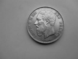 Belgique 5 Francs 1873 - 1865-1909: Leopold II