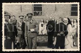 Photo Postcard / Royalty / Belgique / België / Roi Leopold III / Koning Leopold III / Brugge / 1939 / Foto Brusselle - Brugge