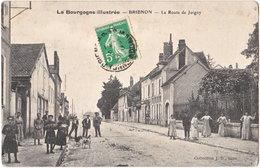 89. BRIENON. La Route De Joigny - Brienon Sur Armancon