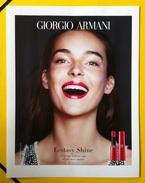 Giorgio Armani - Publicité Maquillage - RAL (modèle 2) - Perfume Cards
