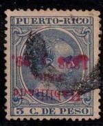 PUERTO RICO Nº 156. INVERTIDA. RARO. - Puerto Rico
