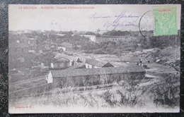 Reunion St Denis Caserne D'infanterie Coloniale Cpa Timbrée 1914 Ile Reunion - Saint Denis