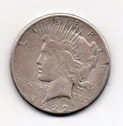 "Stati Uniti -  1922 - 1 Dollaro ""Peace"" - Zecca S (San Francisco) - Argento - (FDC6549) - Émissions Fédérales"