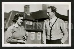 Postcard / Royalty / Belgique / België / Roi Leopold III / Koning Leopold III / Ascot / Golf / Pam Barton / 1937 - Golf