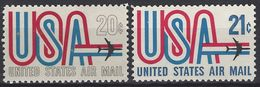 Estados Unidos Aereo 071/72 ** MNH. 1968 - Air Mail