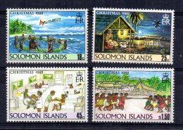 Solomon Islands - 1989 - Christmas - MNH - Salomon (Iles 1978-...)