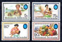 Solomon Islands - 1991 - Health Campaign - MNH - Salomon (Iles 1978-...)