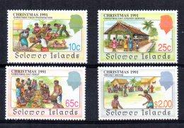 Solomon Islands - 1991 - Christmas - MNH - Salomon (Iles 1978-...)