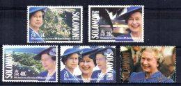 Solomon Islands - 1992 - 40th Anniversary Of QE II's Accession - MNH - Salomon (Iles 1978-...)