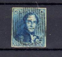 1849   Léopold 1er, 20c épaulettes, N° 2  (4 Belles Marges), Cote 60 €, - 1849 Schulterklappen