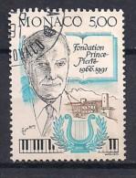 YT N° 1777 - Oblitéré - 25e Fondation Prince Pierre - Mónaco
