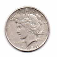 "Stati Uniti -  1925 - 1 Dollaro ""Peace"" - Argento - (FDC6553) - Émissions Fédérales"