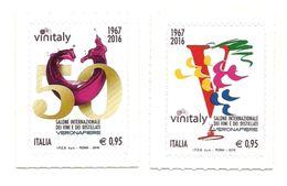 2016 - Italia 3731/32 VinItaly^ - Vini E Alcolici