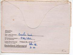 Carte Lettre De Prisonnier Du Camp Feldpost Nr. 45738 - Marcophilie (Lettres)