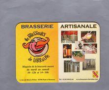 Sous Bock - LES BRASSEURS DE LORRAINE - Brasserie Artisanale - 2 Csan. - Beer Mats