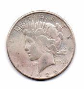 "Stati Uniti -  1925 - 1 Dollaro ""Peace"" - Argento - (FDC6555) - Émissions Fédérales"